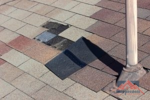 Roof Wind Damage Repair