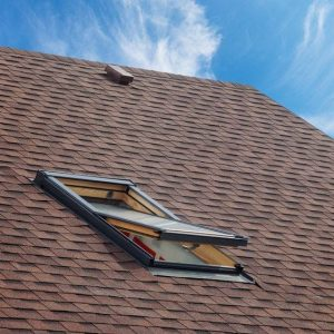 Residential Roofing System With Skylight